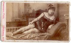 one of the original tattooed ladies....