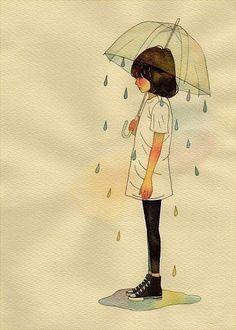 Rain on me.