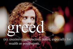 Greed - Freddy Lounds