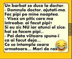 Un bărbat se duce la doctor Funny Clips, Haha, Jokes, Humor, Places, Husky Jokes, Ha Ha, Humour, Memes