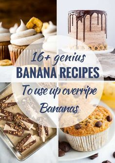 This almond flour recipes is super easy to make; it is vegan, delicious, and has minimal ingredients. Ripe Banana Recipe, Blueberry Banana Smoothie, Chocolate Banana Muffins, Banana Recipes, Recipes For Overripe Bananas, How To Make Smoothies, Making Smoothies, Banana Pudding Poke Cake, Almond Flour Recipes