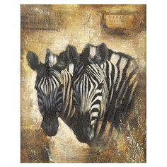 I pinned this Safari Zebra Wall Art from the Safari Chic event at Joss and Main!
