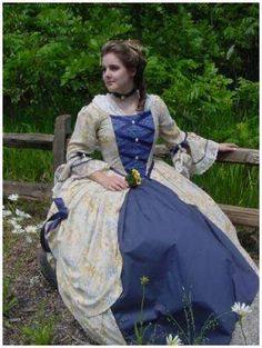 revolutionary war gown