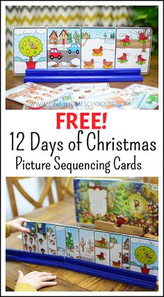 FREE Twelve Days of Christmas Picture Sequencing