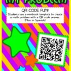 Have some fun, technology-based learning with this QR code activity. Students write their own math story problem in a mini book and create a QR cod...