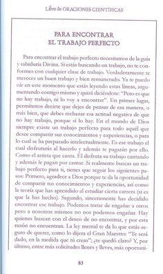 ORACION CIENTIFICA PARA ENCONTRAR EL TRABAJO PERFECTO – CONEXIÓN UNIVERSAL