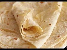 Lavash at home video Lavash Bread Recipe, Flatbread Recipes, Breakfast Recipes, Snack Recipes, Cooking Recipes, Chapati Recipes, Russian Pastries, Super Rapido, Gluten Free Flour Mix