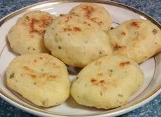 Choux (buñuelos) de bacalao para #Mycook http://www.mycook.es/cocina/receta/choux-bunuelos-de-bacalao