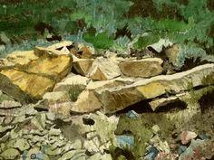 'Im Land der bunten Steine' von Marie Luise Strohmenger bei artflakes.com als Poster oder Kunstdruck $27.72