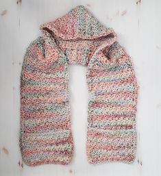 Crochet Storybook Hood + Pocket Scarf - Sewrella