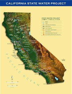 Map: California Water Project