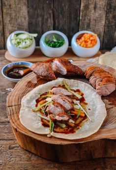 This homemade Peking Duck recipe uses duck breast and homemade Mandarin pancakes. This Peking duck is one of the best things to ever come out of our kitchen