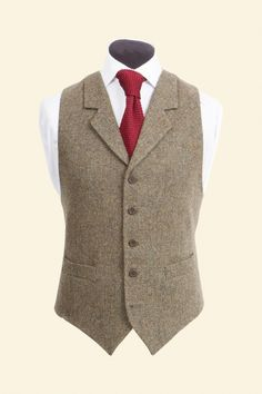 Edward Waistcoat Tweed Waistcoat 262ca2a05e3