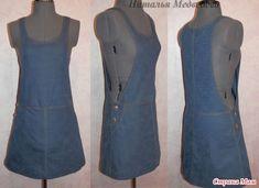 сарафаны и платья из джинсовой ткани: 18 тыс изображений найдено в Яндекс.Картинках