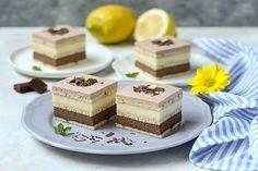 Nepečená bajadera - Mňamky-Recepty.sk Baking Recipes, Cookie Recipes, Dessert Recipes, Sweet Desserts, Sweet Recipes, Torte Recipe, Kolaci I Torte, Dessert In A Jar, Croatian Recipes