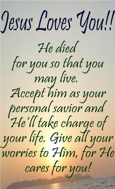 Jesus loves you. John Accept Jesus into your heart and into your life and you will never regret it! Accept,Believe,Commit God loves you Jesus Quotes, Bible Quotes, Godly Quotes, Dating Quotes, Infj, Life Quotes Love, Funny, Jesus Loves You, God Jesus