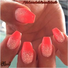 SUMMER 2014 MANI AND PEDI A  MUST...HOT PINK WITH THE WHITE AND MAYBE A LIL SILVER IN THERE...
