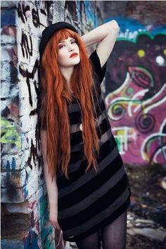 Fiery Urban Fashion - Lookbook.nu User Cosette Munch is Ablaze in These Inner-City Stills (GALLERY)