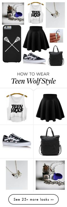 """TEEN WOLF IS LIFE"" by lupegonzalez743 on Polyvore featuring Vans"