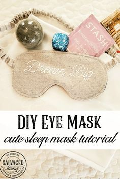 You might have seen pictures from my recent trip to Round Top with a fabulous group of ladies. We held a mastermind meeting there and as a small party favor my mom helped me make these adorable DIY eye masks. I love to give little presents, there is nothing better than a grown up goody […] The post Dream Big DIY Eye Mask appeared first on Salvaged Living.