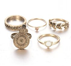 Cheap vintage ring, Buy Quality ring gold directly from China gold color Suppliers: 2017 New style Vintage Rings Gold Color Silver Color Jewelry Alloy for women Special gift Vintage style Rings Female Wedding Ring Designs, Wedding Jewelry Sets, Wedding Rings, Vintage Gold Rings, Vintage Style Rings, Antique Gold, Gold Fashion, Fashion Rings, Fashion Jewelry
