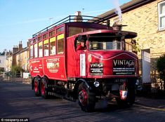 Elizabeth the Whitby Steam Bus, Sentinel Waggon, Works No. Buses For Sale, Old Lorries, Road Transport, Truck Engine, Bus Coach, Busses, Steam Engine, Commercial Vehicle, Steam Locomotive