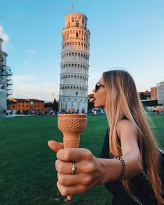 Okay, this one wins. Maybe someone wants Pisa ice-cream? #pisa#italy#toscana#icecreame
