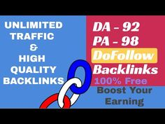 How to Create High DA PA DoFollow Backlinks | Improve website Ranking on...