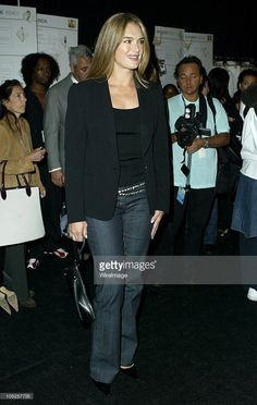 Brooke Shields during MercedesBenz Fashion Week Spring 2004 Michael... News Photo | Getty Images
