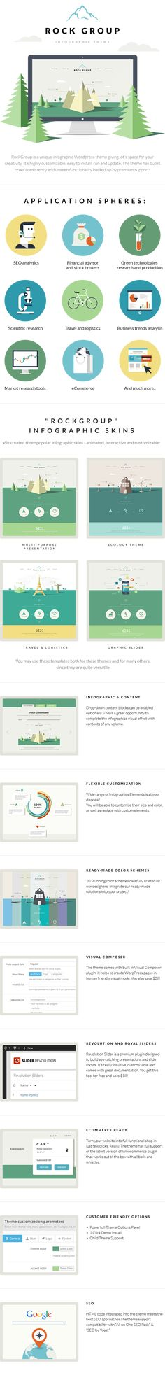 WP Theme Of the Day #355 – Multipurpose Infographic Theme