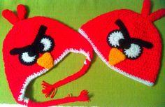 Gorro Infantil Angry Bird