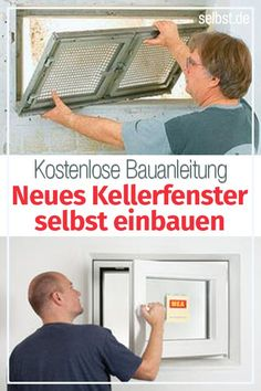 basement time to replace the old basement window with a new one! You can find out how to do this in our free building instructions at selbst.de >> Keller Wenster ausauten Picture result for