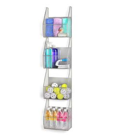 Look at this Four-Tier Vertical Basket Rack on #zulily today!