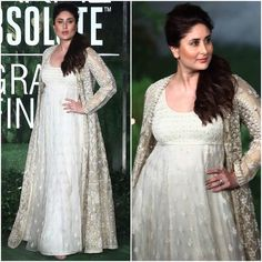 Kareena Kapoor Khan Ruled The Ramp As Showstopper For Anita Dongre at Lakme Fashion Week 2017 Grand Finale Indian Maternity Wear, Cute Maternity Dresses, Maternity Fashion, Shadi Dresses, Indian Dresses, Indian Outfits, Pakistani Fashion Casual, Indian Fashion, Dresses For Pregnant Women