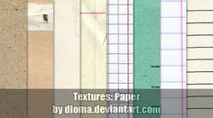 Textures: Paper by Dioma
