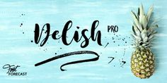 Font dňa – Delish Pro   https://detepe.sk/font-dna-delish-pro?utm_content=buffer9bb71&utm_medium=social&utm_source=pinterest.com&utm_campaign=buffer