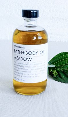 Fig and Yarrow Bath and Body Oil Meadow