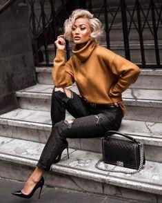 modelos famosos y micah gianneli estilo Mode Outfits, Chic Outfits, Fall Outfits, Fashion Outfits, Fashion Poses, Fashion Tips, Fashion Trends, Moda Fashion, Womens Fashion