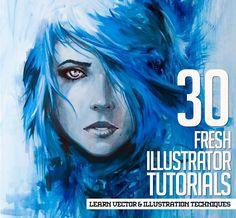 Illustrator Tutorials: 30 New Tuts to Learn Vector & Illustration Techniques…