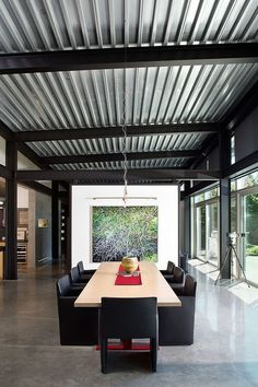 3 Fantastic Tips: Dining Furniture Design Decor dining furniture desks.Dining Furniture Design Decor dining furniture makeover how to paint. Roof Design, Ceiling Design, Ceiling Ideas, Casas Containers, Roof Architecture, Structure Metal, Steel House, Patio Roof, Metal Roof