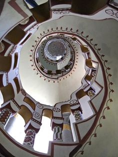 10 April 2011. Up the down stair. Bory Castle staircase (Castle was the creation of )Jeno Bory. | Flickr - Photo Sharing!