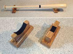 #Horizontal #Baseball bat #DESKTOP display rack - Oak,  View more on the LINK: http://www.zeppy.io/product/gb/3/128113853/