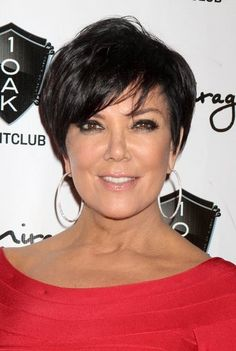 Short+Hairstyles+For+Women+Over+50+Round+Face | Kris Jenner Haircuts - Great Short Hair for Women over 50