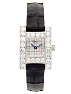 Chopard H 18K White Gold & Diamond Watch by Chopard at Gilt