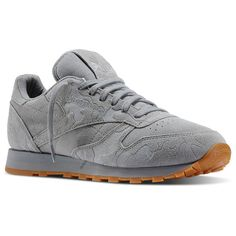 Classic Leather Embossed Camo - Grey Classic Leather, Reebok, Athletic  Shoes, Running Shoes 8368b58899a0