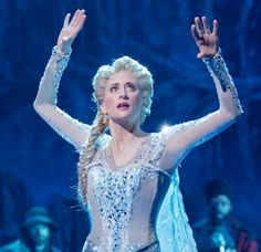 """Want room to spread out? Head to the St. James Theatre on Broadway, where empty seats abound at the musical """"Frozen."""" But isn't Disney's story of ice. Frozen On Broadway, Frozen Musical, Broadway Nyc, Snow Queen, Ice Queen, Elsa Frozen, Disney Frozen, Frozen Heart, Frozen Costume"""