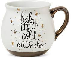 "Threshold ""Baby it's Cold Outside"" 16oz Stoneware Mug - Threshold"