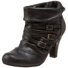 I own these in brown, and I'm now kicking myself for not also getting them in black. I love them & they are pretty comfy!