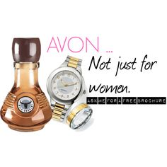 """""""AVON ... not just for women"""" by maggie-keachie on Polyvore"""