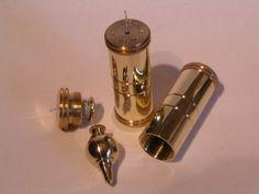 richardkell - richard kell plumb bob in fitted brass case .......
